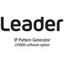 Leader LV5600-SER32 25G IP Signal Generation for LV5600 (software)