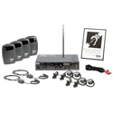 Listen Technologies LS-41-072 Level I Stationary RF Assistive Listening  System (72 MHz)