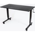 Luxor STANDCF60-BK/BO Crank Adjustable Stand Up Desk