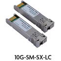 Luxul 10G-SM-SX-LC 10Gb Bi-Directional Singlemode Fiber Simplex SFPplus Tranceiver Modules