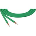 Canare LV-61S RG59 75 Ohm Video Coaxial Cable by the Foot - Chroma Key Green Compatible
