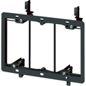 Arlington LV3 Low Voltage Mount Bracket 3-Gang Existing Construction