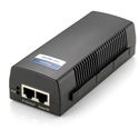 LevelOne POI-2001 Gigabit PoE Injector - 802.3af PoE - 15.4W