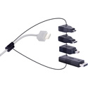 Liberty DL-AR2 Universal HDMI Adapter Ring Complete Assembly With 4 Adapters
