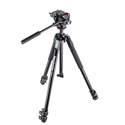 Manfrotto MK190X3-2W 190X3 Three Section Tripod with MHXPRO-2W Fluid Head
