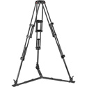 Manfrotto MVTTWINGCUS CF Twin Leg with Ground Spreader Video Tripod 100/75mm Bowl