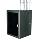 Middle Atlantic CWR-12-17PD - 2 ft Data Wall Cabinet - Black