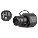 Marshall CV343-CSB Full-HD (3G-SDI) Compact Broadcast POV Camera (CS Mount) Body Only