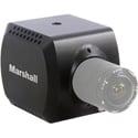 Marshall CV380-CS Compact 8MP UHD Camera CS/C-Mount Output HD60/UHD30 6G/3G-SDI HDMI-1.4 TRS Stereo Mic/Line-Level Input