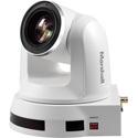 Marshall Electronics CV612HT-4KW 4K Pan-Tilt-Zoom Camera - White