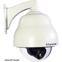 Marshall CV6XX-DH Outdoor IP66 Dome Housing for CV620/CV612/CV630 Security Cameras - White