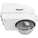 Marshall CV6XX-HFH Compact Weatherproof Dome Housing for PTZ with Fan and Heater