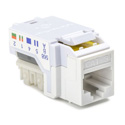 HellermannTyton RJ11FC3-W Category 3-4 110 Punchdown Keystone Module - White