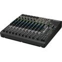 Mackie 1402VLZ4 Compact 14-Channel Audio Mixer with Onyx Mic Preamps