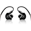 Mackie MP-240 BTA Dual Hybrid Driver Professional In-Ear Headphones with Bluetooth Adapter