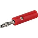 Single Banana Plug Red