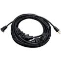Milspec D19006339 Multi-Outlet 14/3 AC Distribution Extension Cord Black 32.5 Foot