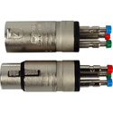 3-Pin XLR Male to Spring Loaded Quick Connect Terminal Adapter