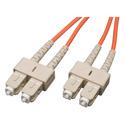 Camplex MMD62-SC-SC-001 62/125 Fiber Optic Patch Cable Multimode Duplex SC to SC - Orange - 1-Meter
