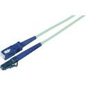 60-Meter 50/125 Fiber Optic Patch Cable Multimode Simplex LC to SC - 10-Gig Aqua