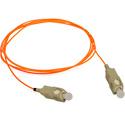 1-Meter 62/125 Fiber Optic Patch Cable Multimode Simplex SC to SC - Orange