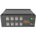 Matrix Switch MSC-FS44FL 4x4 Fiber Optic 3G-SDI Mini Switcher with Button Panel