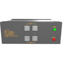 Matrix Switch MSC-XD22L 2 Input - 2 Output - 3G-SDI Video Router with Button Panel