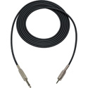 Mogami Audio Cable 1/4-In TS Male to 3.5mm Mini TRS Male  1.5 Foot - Black