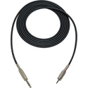 Mogami Audio Cable 1/4-In TRS Male to 3.5mm TRS Male 1.5 Foot - Black