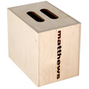 Matthews 259531 Full Size Mini Apple Box - 8inH x 12inW x 10inL