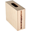 Matthews 259532 Half Size Mini Apple Box - 4inH x 12inW x 10inL