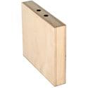 Matthews 259533 Quarter Size Mini Apple Box - 2inH x 12inW x 10inL