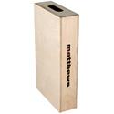 Matthews 259536 Half Size Apple Box - 4inH x 12inW x 20inL