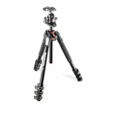 Manfrotto MT190XPRO4 Aluminum 4 Section Tripod with Quick Power Lock System