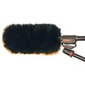 WindTech MM-10 Mic Muff Microphone Windshield Fitted Fur Windscreen Cover