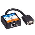 MuxLab 500042 VGA Balun II DB15M Monitor-Side Videoease CAT5 Balun