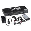 Muxlab 500440 4x4 4K-UHD HDMI Matrix Switcher