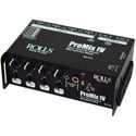 Rolls MX124 ProMix IV Portable 4 Channel Field Mixer Battery or AC Operation