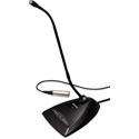 Shure MX418D/C 18-Inch Gooseneck Mic Desktop Base & 10ft Cable - Cardioid