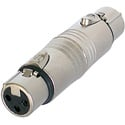 Neutrik NA3FF 3 Pole XLR Female to 3 Pole XLR Female Coupler