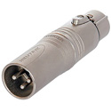 Neutrik NA3M5F 3 pin XLR Male to 5 Pin XLR Female - Pre-Wired