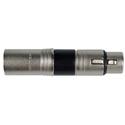 Sescom NA5MF XLR Adapter 5-Pin Male to 5-Pin Female XLR JK Audio BlueSet to Telex Extension