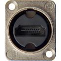 Neutrik NAHDMI-W HDMI 1.4 Feed-Thru Adaptor IP65 Rated/ Nickel D-Shape