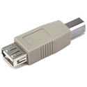 USB 2.0 A Female/B Male Adapter