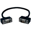 VGA/QXGA HDTV/HD15 Male to Male PortSaver Cable - 18 Inch