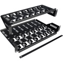 Multi Unit Shelf (8) DIRECTV H25 Satellite Receivers - Pair