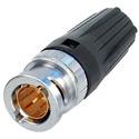 Neutrik NBNC75BLP7 Push Pull BNC .7mm fits Canare LV-61S Belden 8241 & RG-59B/U