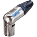 Neutrik NC4MRX 4 Pin XLR RA Male - Nickel/Silver