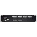 Ashly NE24.24M 12X8 LOGIC - 12x8 Protea DSP Audio Matrix Processor with Logic Card