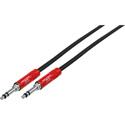 Neutrik NKTB04-R 1/4in Longframe Patch Cord 18in - Red